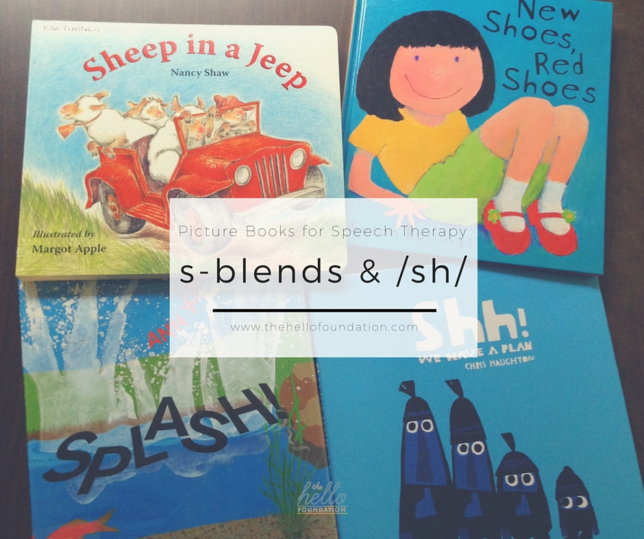 picture books for speech therapy